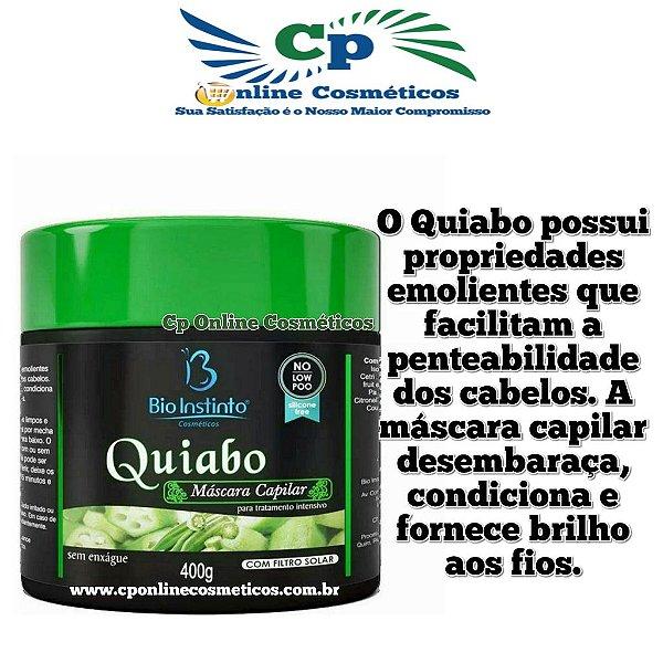 Máscaras Quiabo 400g  - No Low Poo - Bio Instinto
