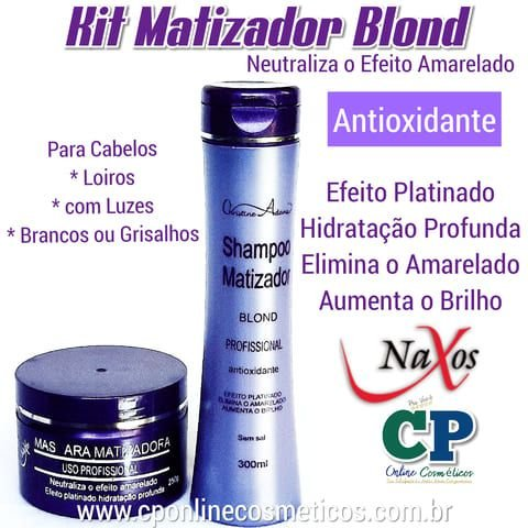 Kit Matizador Blond - Naxos