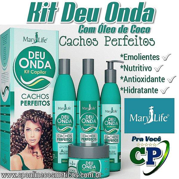 Kit Deu Onda - Cachos Perfeitos - Mary Life