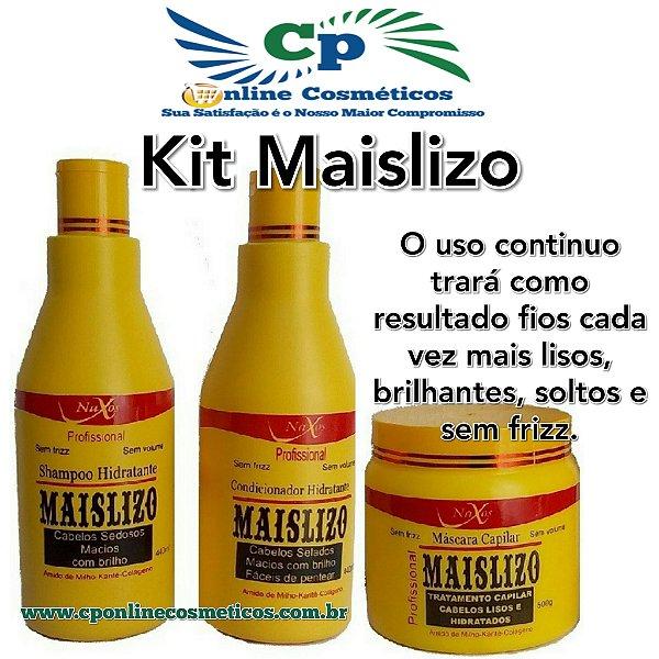 Kit Maislizo - Efeito Liso sem Química - Naxos