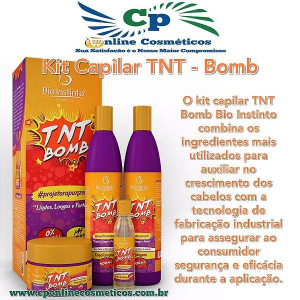 Kit Capilar TNT Bomb - Tratamento Capilar - Bio Instinto