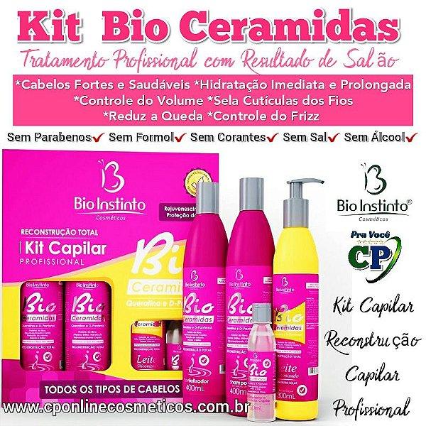 Kit Capilar Bio Ceramidas - Bio Instinto