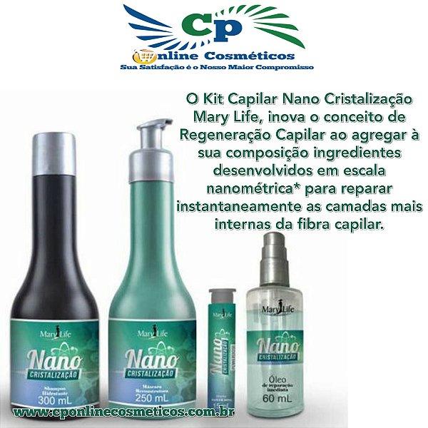 Kit Capilar Nano Cristalização - Tratamento Capilar - Mary Life