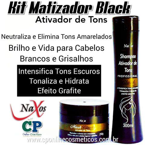 Kit Matizador Black - Naxos