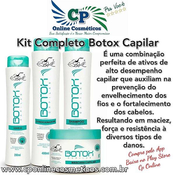 Kit Completo Botox Capilar - Belkit