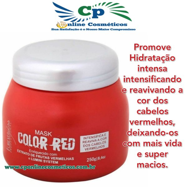 Máscara Color Red  250g - Forever Liss