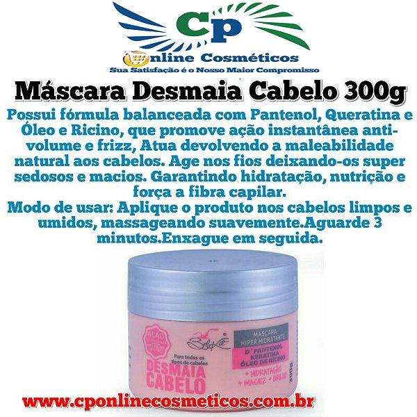 Máscara de Hidratação Capilar Desmaia Cabelo 300 g - Belkit