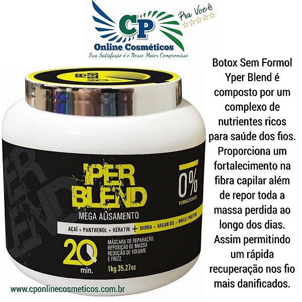 Botox Mega Alisamento Capilar sem Formol 1kg - Yper Blend