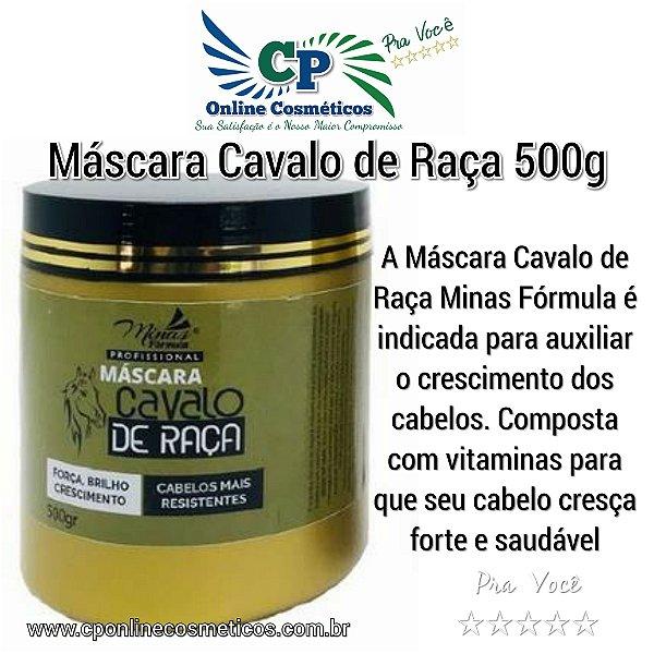 Máscara Cavalo de Raça 500g - Minas Fórmula