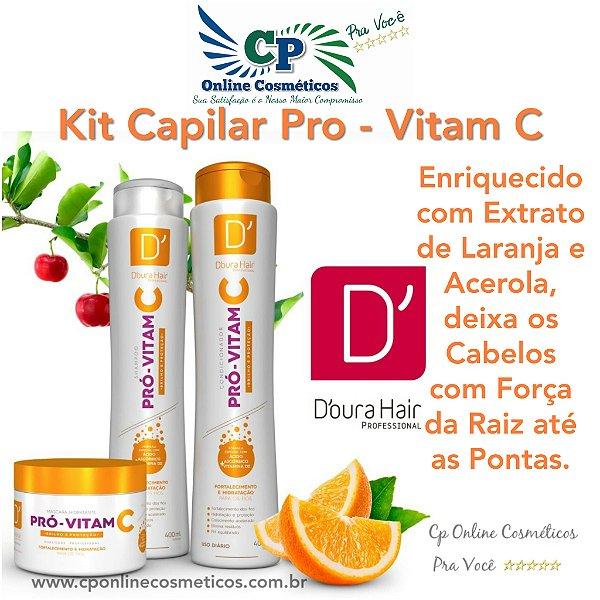 Kit Capilar Pró - Vitam C - D'oura Hair
