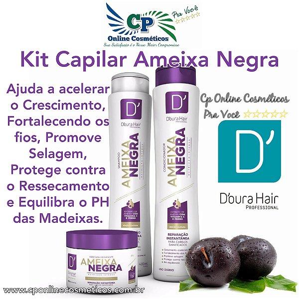 Kit Capilar Ameixa Negra - D'oura Hair