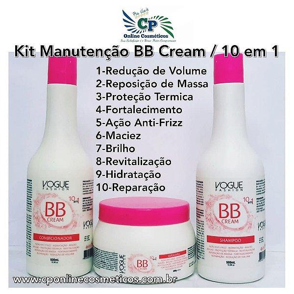 Kit de Manutenção BB Cream - Vogue