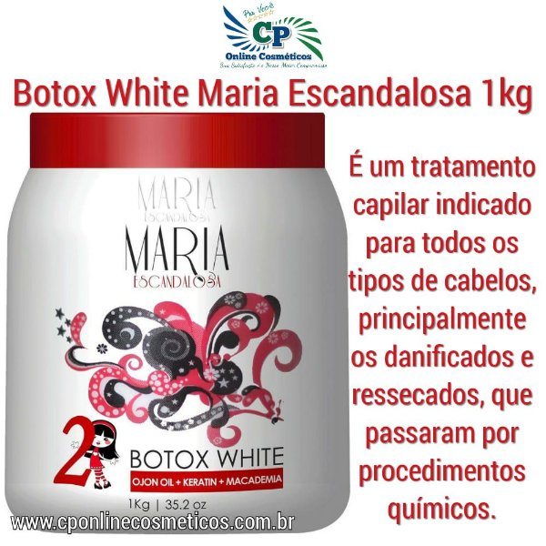 Botox White Maria Escandalosa 1kg