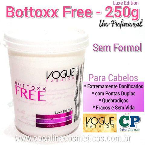 Bottoxx Free 250g - S/ Formol - Vogue