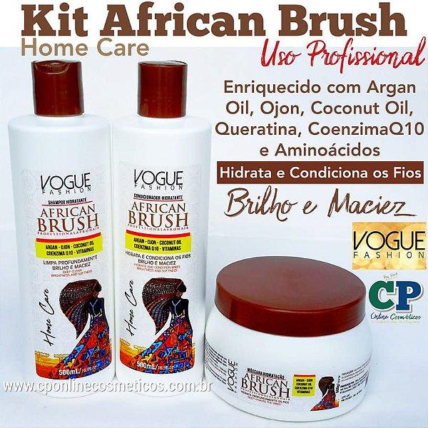 Kit African Brush - Vogue Fashion