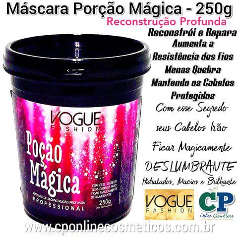 Máscara Porção Mágica 250g - Vogue Fashion