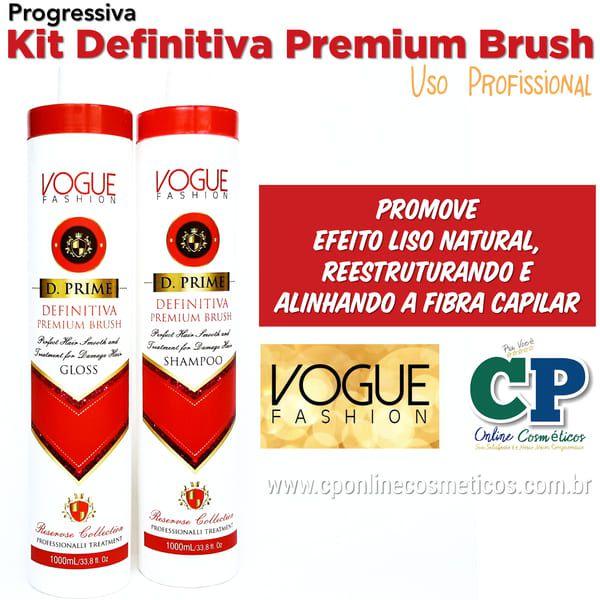 Kit Progressiva Definitiva Premium Brush 2x1L - Vogue Fashion