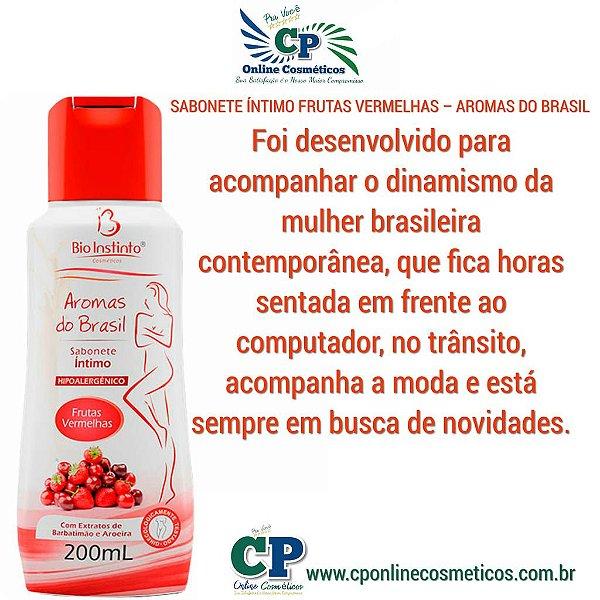 Sabonete Íntimo Frutas Vermelhas 200ml - Bio Instinto