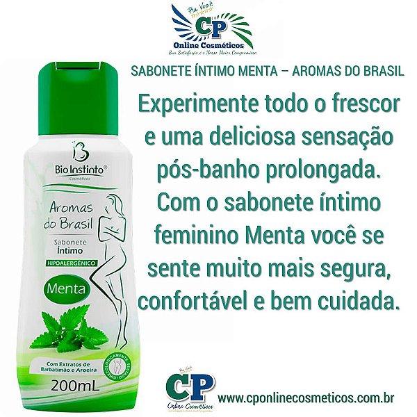 Sabonete Íntimo Menta 200ml - Bio Instinto
