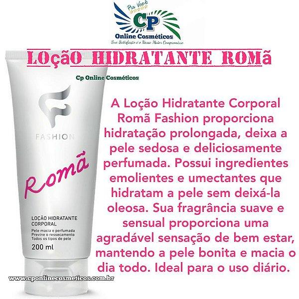 Loção Hidratante Corporal Romã 200ml - Fashion