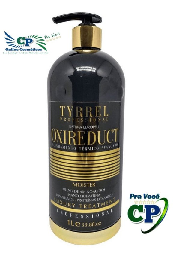 Escova Progressiva Alinhamento Térmico Oxireduct - Tyrrel 1000ml