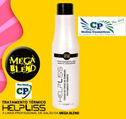 Help Liss Tratamento Térmico 1L - Mega Blend