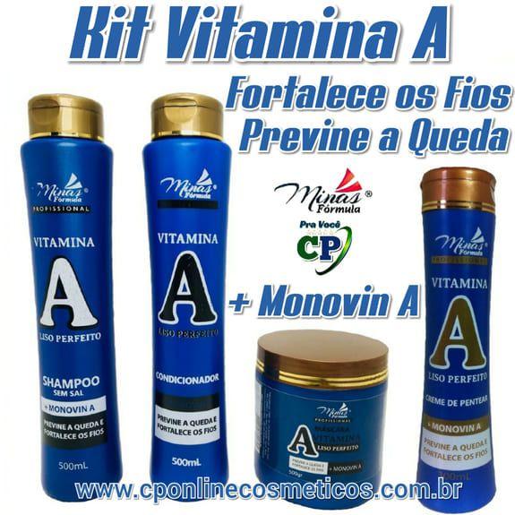 Kit Completo Vitamina A - Minas Fórmula