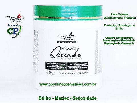 Máscara Quiabo com Vitamina A - Minas Fórmula