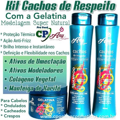 Kit Cachos de Respeito - Any Liss