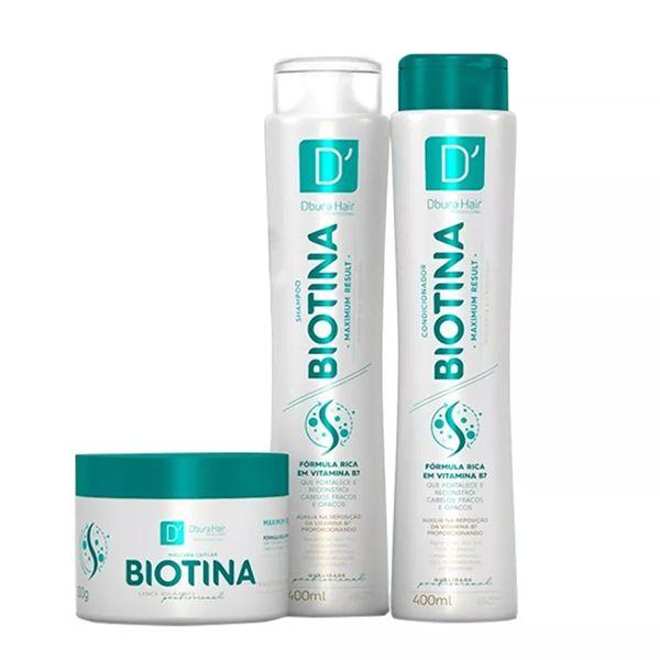 Kit Capilar Biotina - D'oura Hair