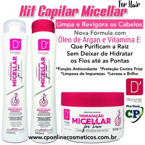 Kit Capilar Micellar - D'oura Hair