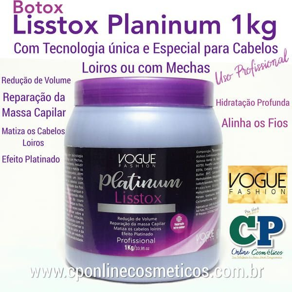 Lisstox Platinum 1kg - Vogue Fashion