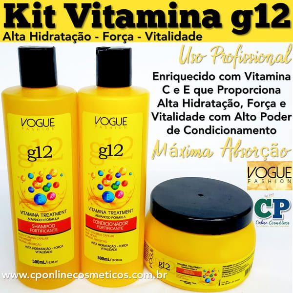 Kit Vitamina g12 - Vogue Fashion