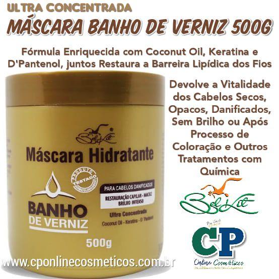 Máscara Banho de Verniz 500g - Belkit