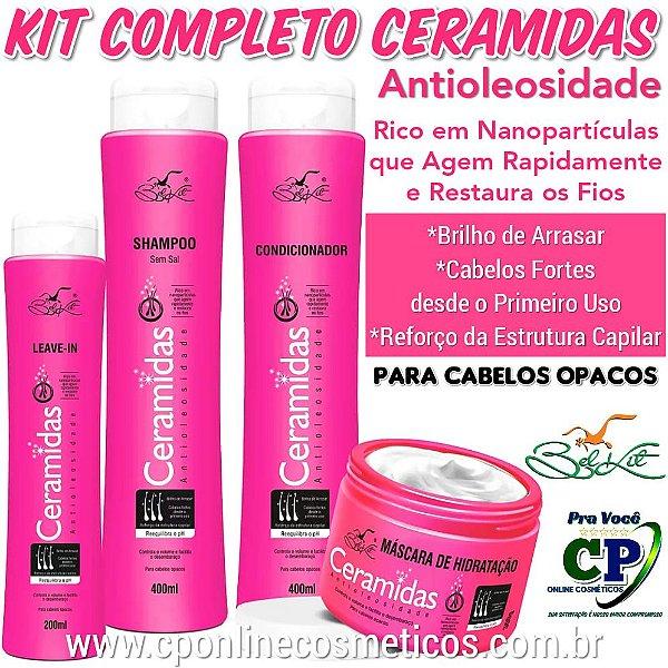 Kit Completo Ceramidas - Belkit