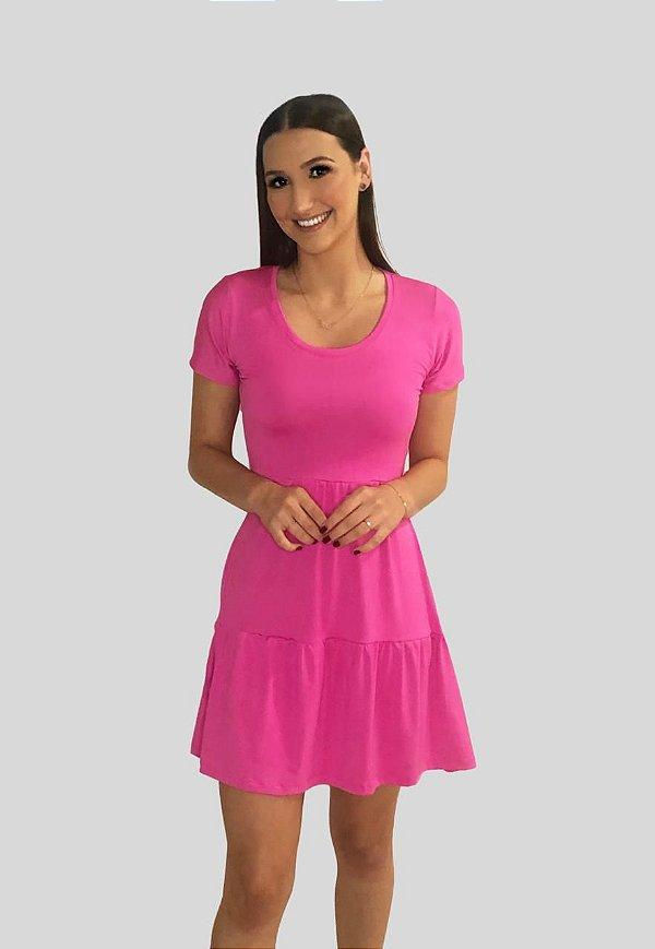 Vestido rodado Lolla Pink