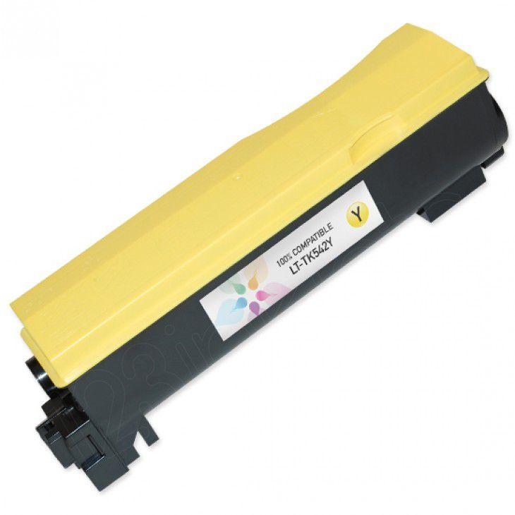 Toner Compatível MyToner para Kyocera TK542 TK-542 Yellow
