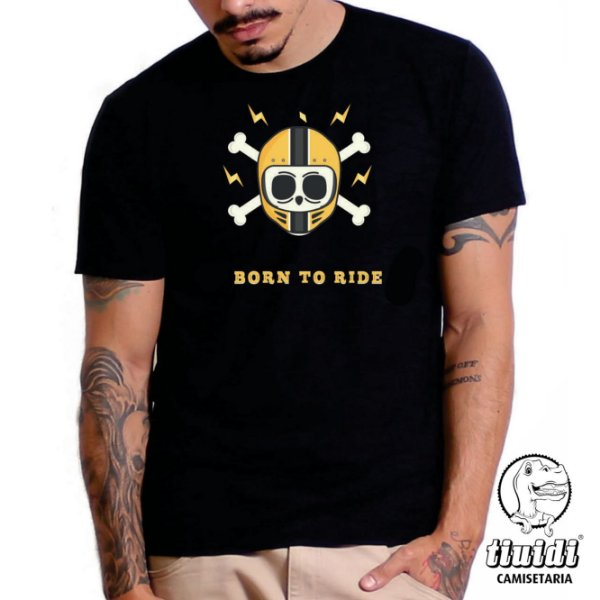 Camiseta Tiuidi Born to Ride