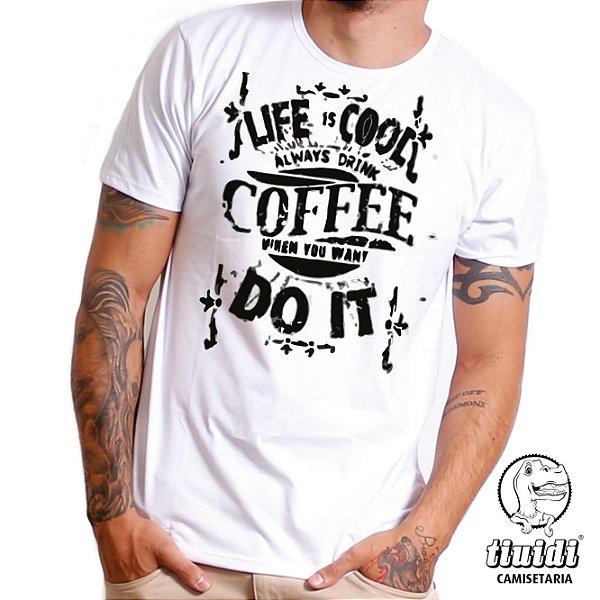 Camiseta Tiuidi Coffee