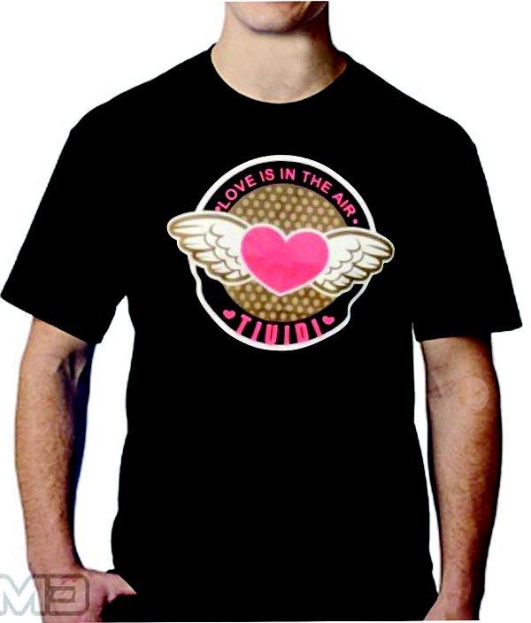 Camiseta Tiuidi Coração