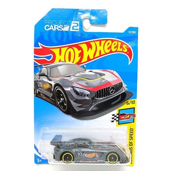 Mercedes Benz AMG GT3 2016 Project Cars 2 1/64 Hot Wheels