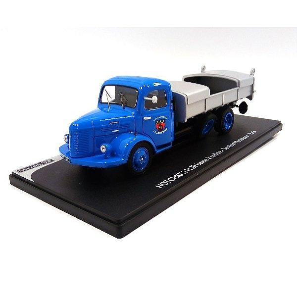 Caminhão Hotchkiss PL 20 Benne Ordure Paris 1946 1/43 Eligor