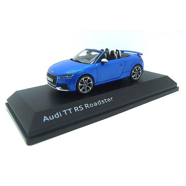 Audi TT Roadster 2016 Azul 1/43 Iscale
