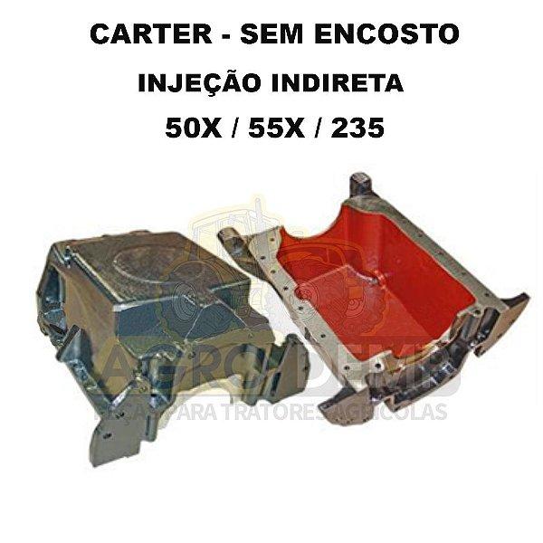 CARTER DO MOTOR (SEM ENCOSTO - INJECAO INDIRETA - MOTOR PERKINS 3152) MASSEY FERGUSON 50X / 55X / 235 - 70830017