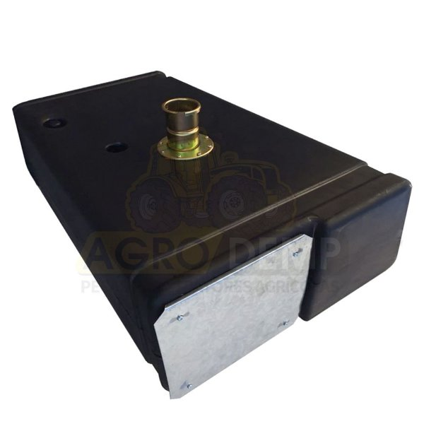 TANQUE DE COMBUSTÍVEL (POLIETILENO - 70 LITROS) MASSEY FERGUSON  275 / 285 /  290 (MODELO ANTIGO) - RETROESCAVADEIRA MF 86HS E HD - 2800228