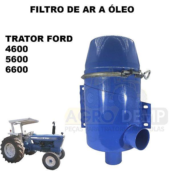 FILTRO DE AR A ÓLEO SEM PROLONGADOR TRATOR FORD 4600 / 5600 / 6600 - D5NN9600J