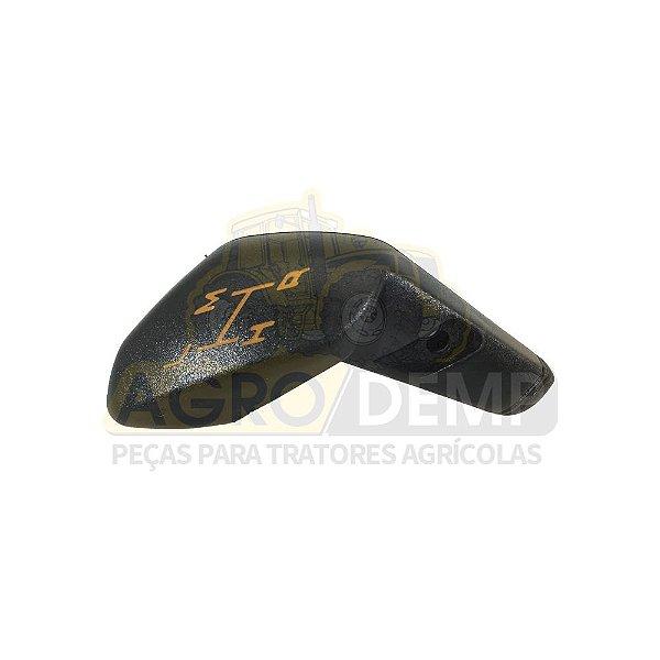 MANOPLA ALAVANCA DO CAMBIO (ORIGINAL AGCO - PLASTICO) VALTRA 1280R / 1580 / 1780 / BH140 / BH160 / BH180 - 80637210