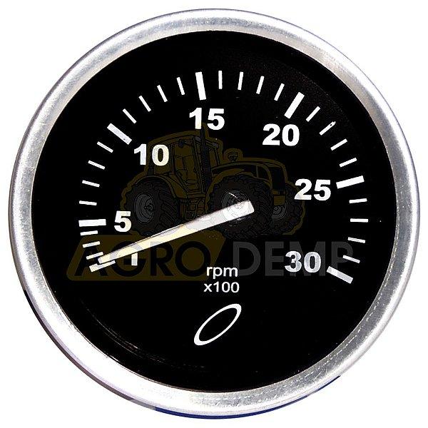 RELÓGIO TACÔMETRO CONTA-GIROS (3000 RPM - 865HZ - 12V – 80MM) VALTRA 128 / 148 / 885 / 980 / 1280 / 1580 / 1780 - 80100700