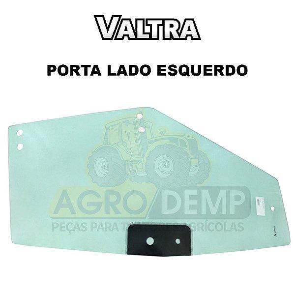 PORTA DE VIDRO LADO ESQUERDO TRATORES VALTRA BH180 GII / BH145 / BH165 / BH185i / BH205i / BM100 / BM110 / BM120 / BM125i / A650 / A750 / A850 / A950 / A990 GII - 83862600
