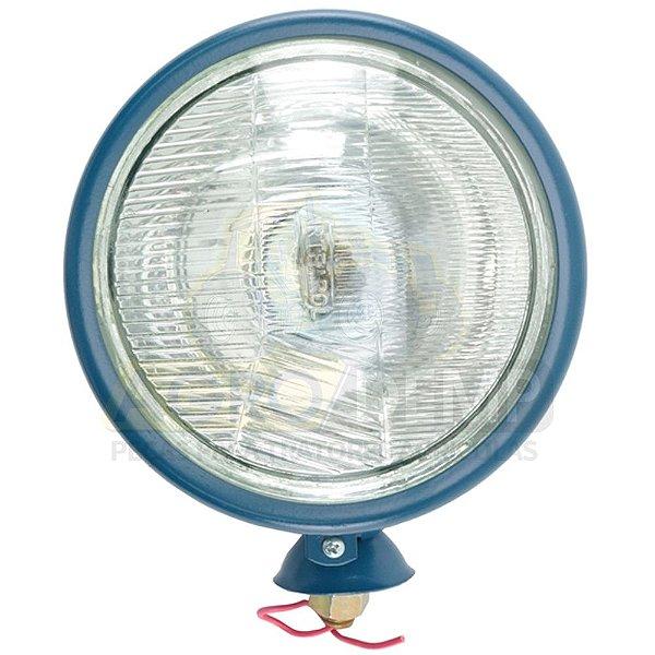 FAROL DIANTEIRO REDONDO (LADO DIREITO - COM LAMPADA) TRATOR FORD 4600 / 5600 / 6600 - D4NN13005